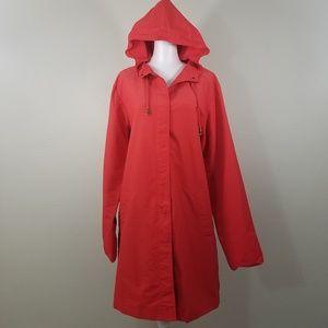 Bloomingdale's Now Long Hoddie Jacket Size L